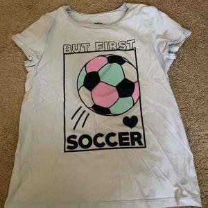 Girls Oshkosh 10/12 soccer shirt